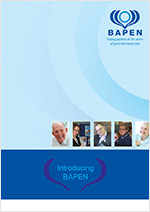 BAPEN Brochure cover