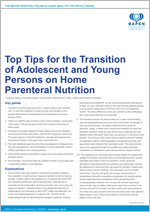 Top Tips for the Transition of Adolescent and Young Persons on Home Parenteral Nutrition