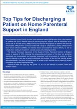 Top Tips for Discharging a Patient on Home Parenteral Support in England