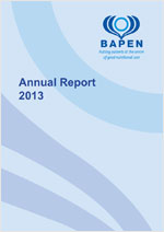 BAPEN Annual Report 2013