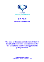 The cost of disease-related malnutrition in the UK and economic considerations for the use of oral nutritional supplements (ONS) in adults