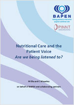 Nutritional Care and the Patient Voice: Are we being listened to?