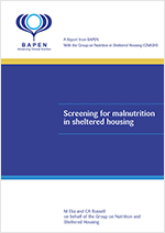 Screening for Malnutrition in Sheltered Housing