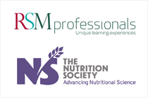 RSM Professionals and Nutrition Society logos