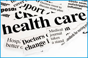 Paper cuttings about health care