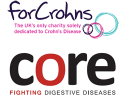 For Crohns and Core logos