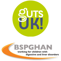 GUTSUK and BSPGHAN logos