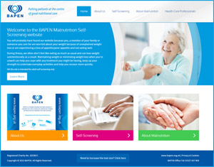Malnutrition Self Screening website
