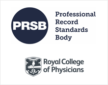 PRSB and RCP logos